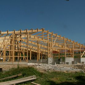 Construction en bois - Charpente F. Perroud Sàrl